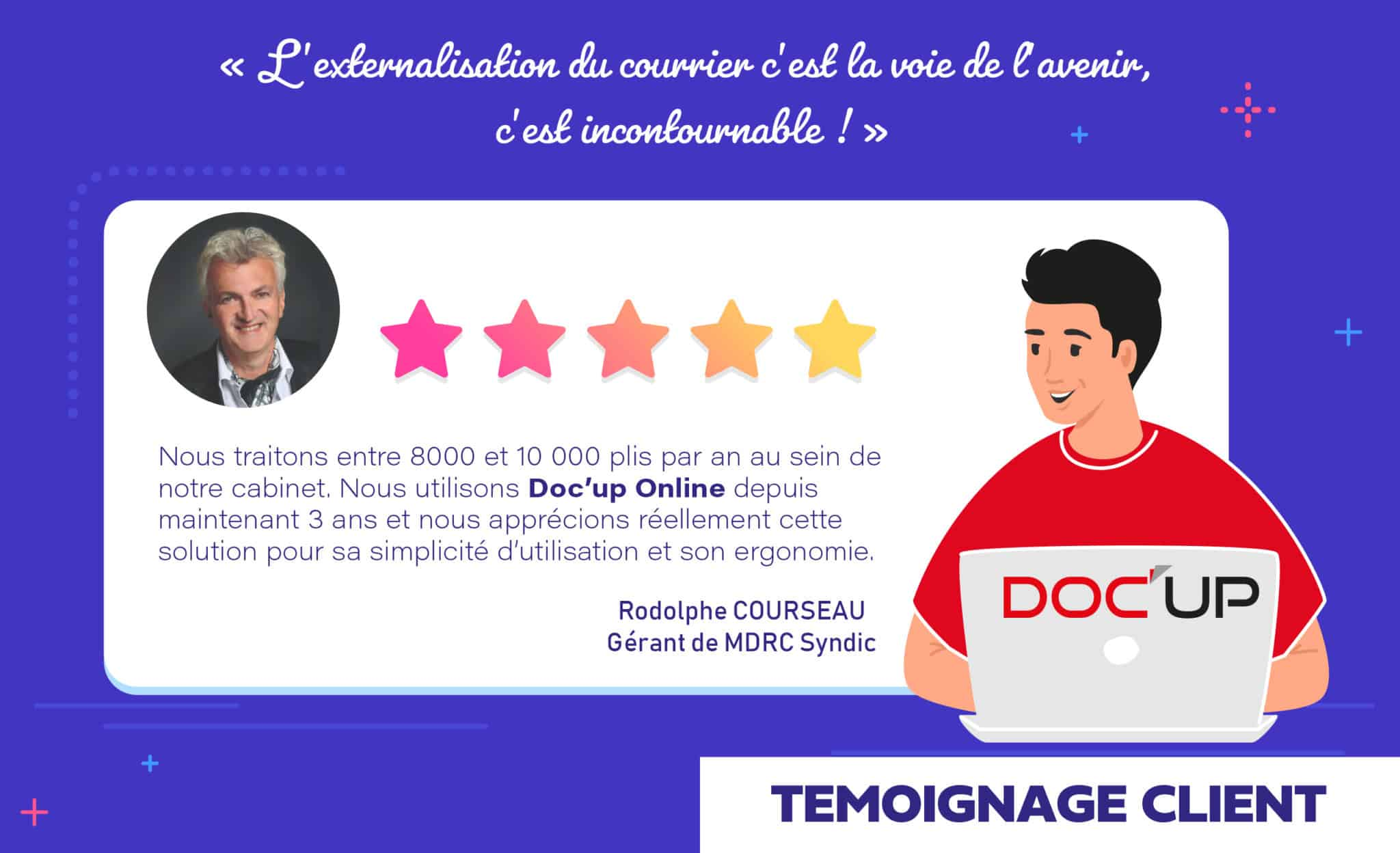 Témoignage client MDRC Syndic